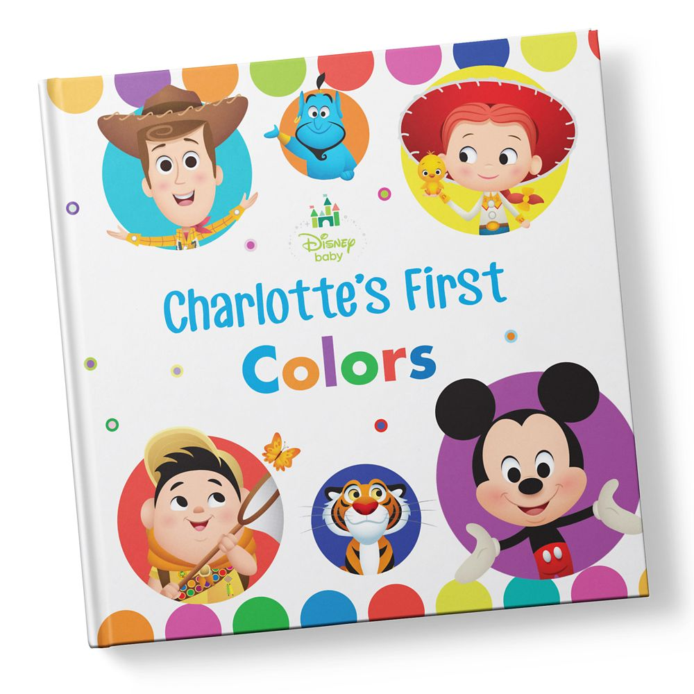 Disney Baby: Your First Colors Book – Hardback – Personalizable