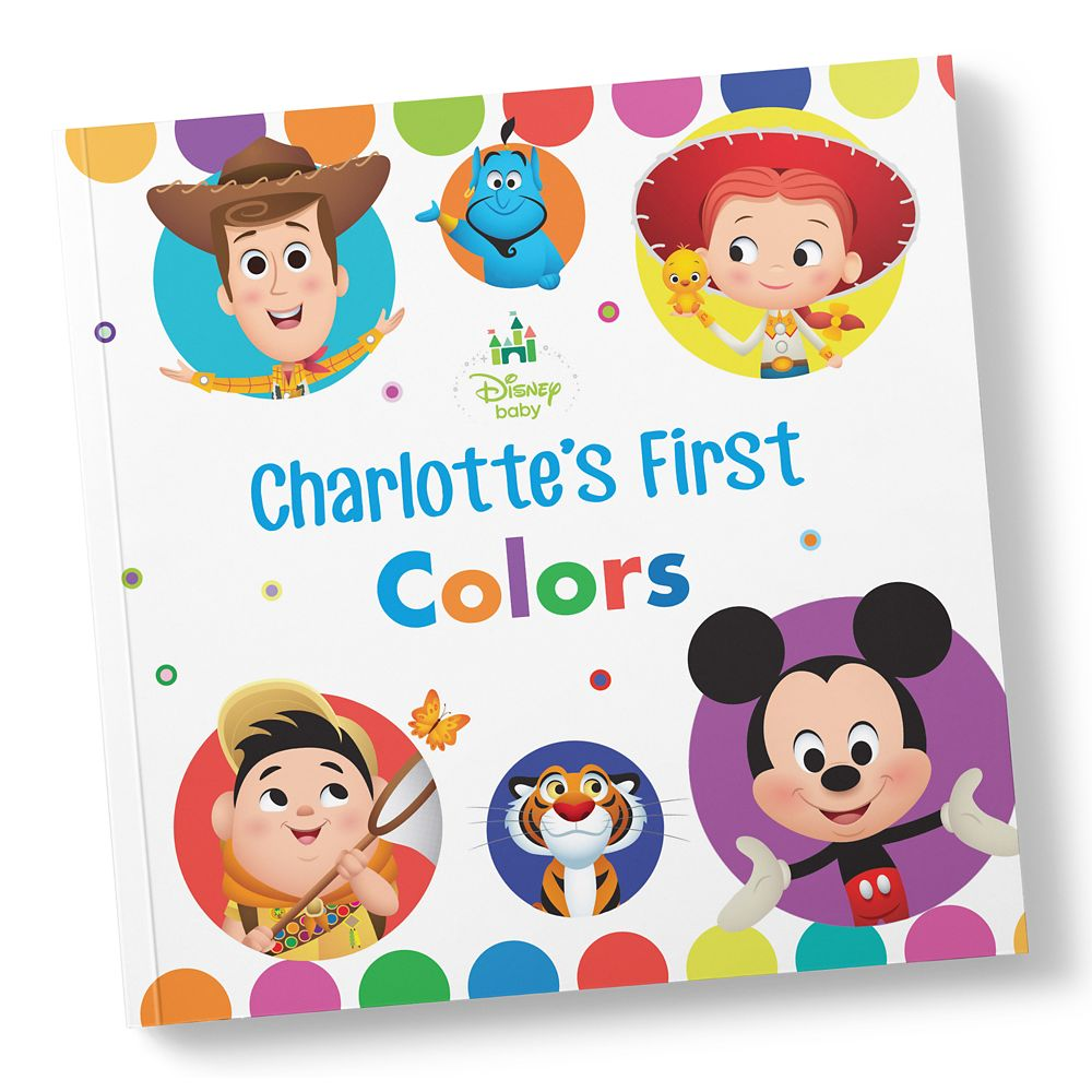 Italian Boy Name: Disney Baby: Your First Colors Book