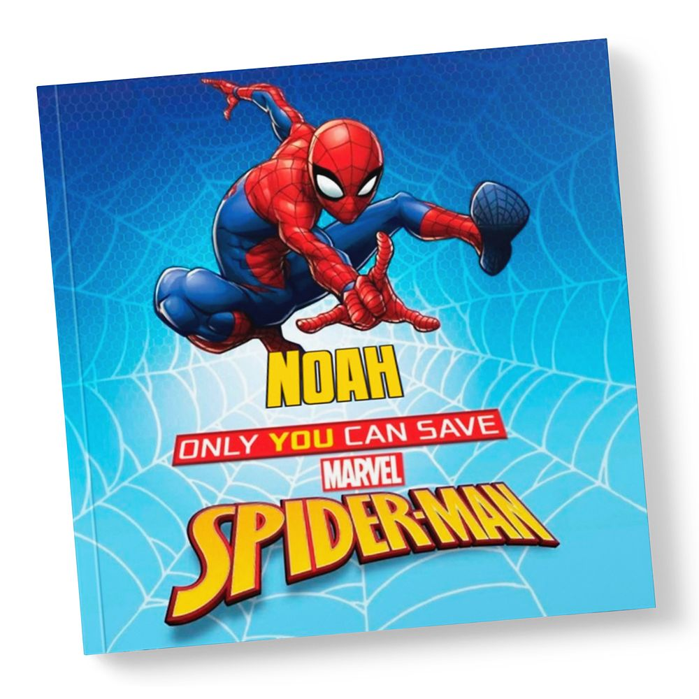 Only You Can Save Spider-Man Book  Paperback  Personalizable Official shopDisney