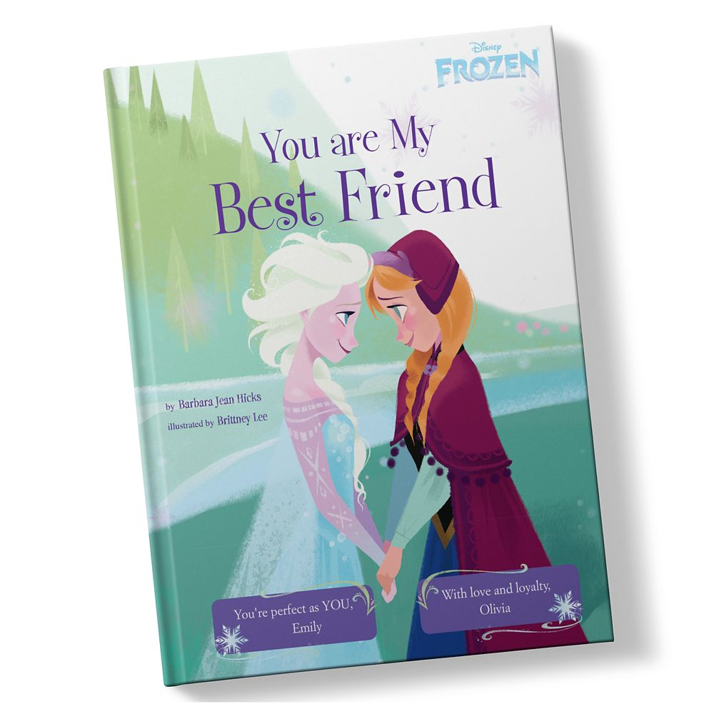 Frozen: You Are My Best Friend Book – Hardback – Personalizable