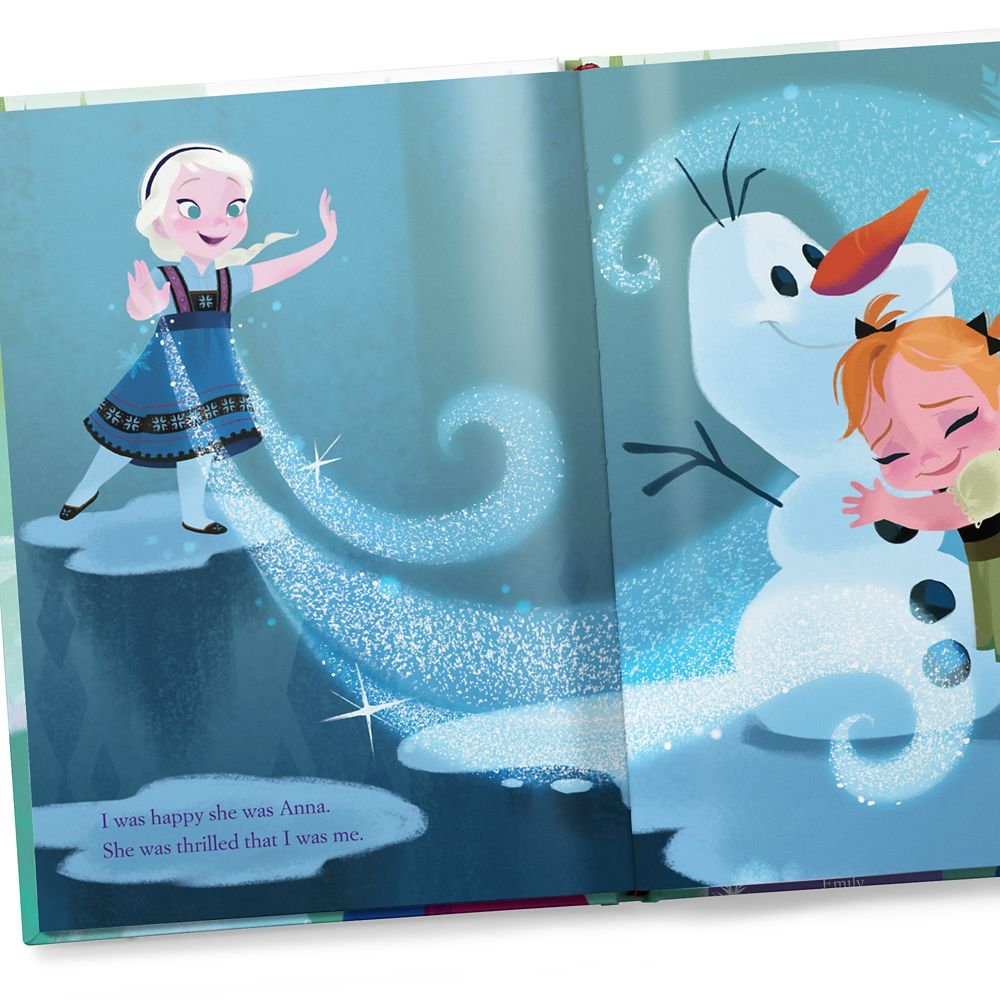 Frozen: You Are My Best Friend Book – Hardback – Personalizable