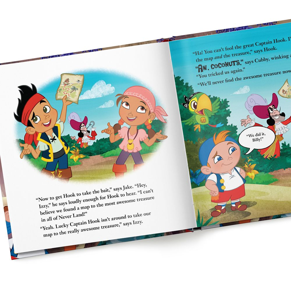 Jake and the Never Land Pirates: Save Me, Smee! Book – Hardback – Personalizable