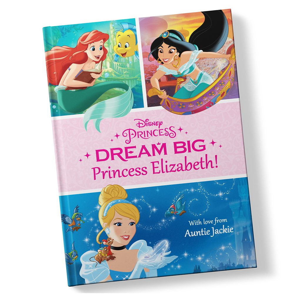 Disney Princess: Dream Big Book – Hardback – Personalizable