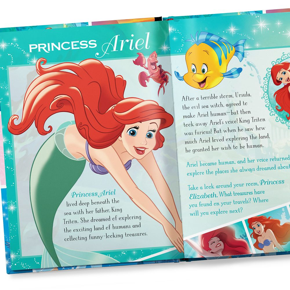 Disney Princess: Dream Big Book – Paperback – Personalizable