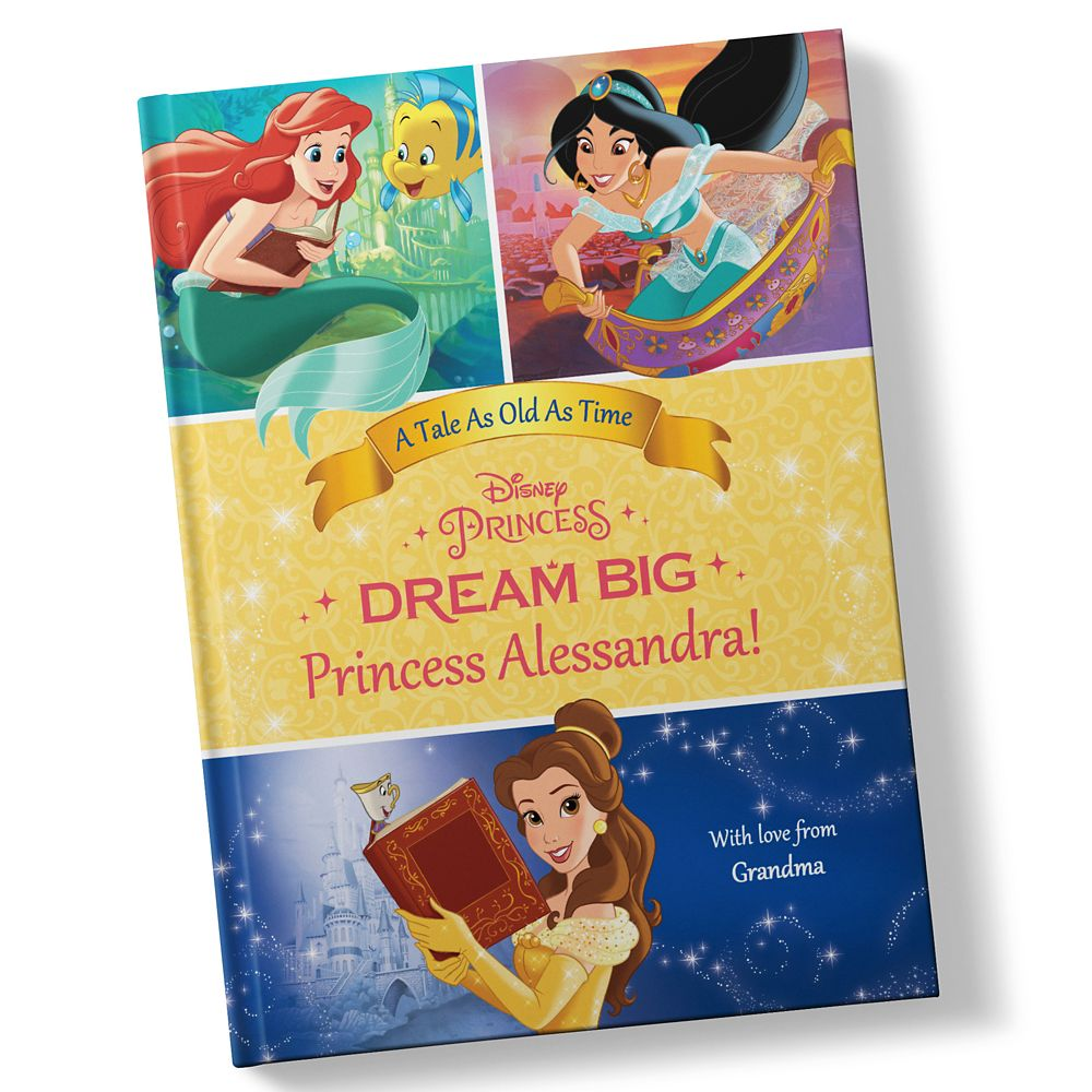 Belle: Dream Big Book – Hardback – Personalizable