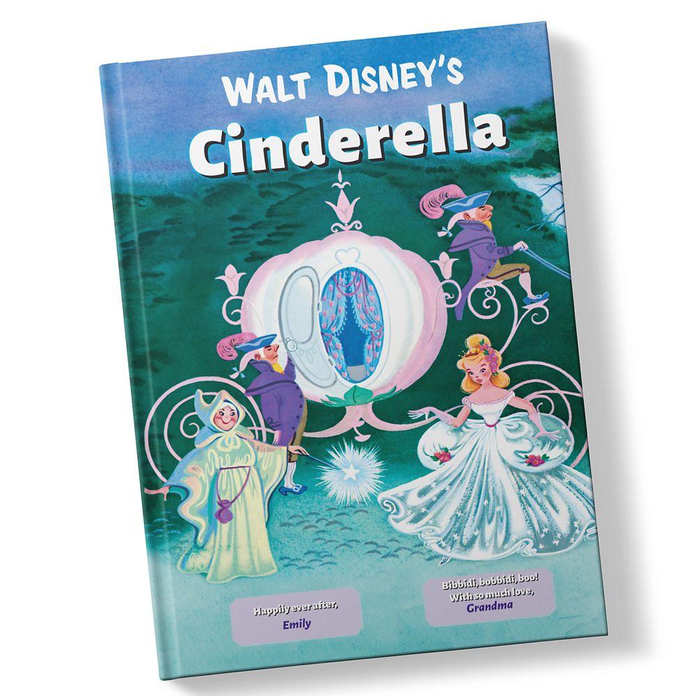 Walt Disney's Cinderella Book – Hardback – Personalizable