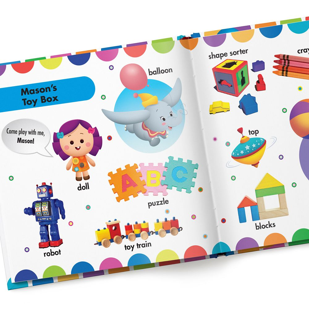 Disney Baby: Your First Words Book – Hardback – Personalizable