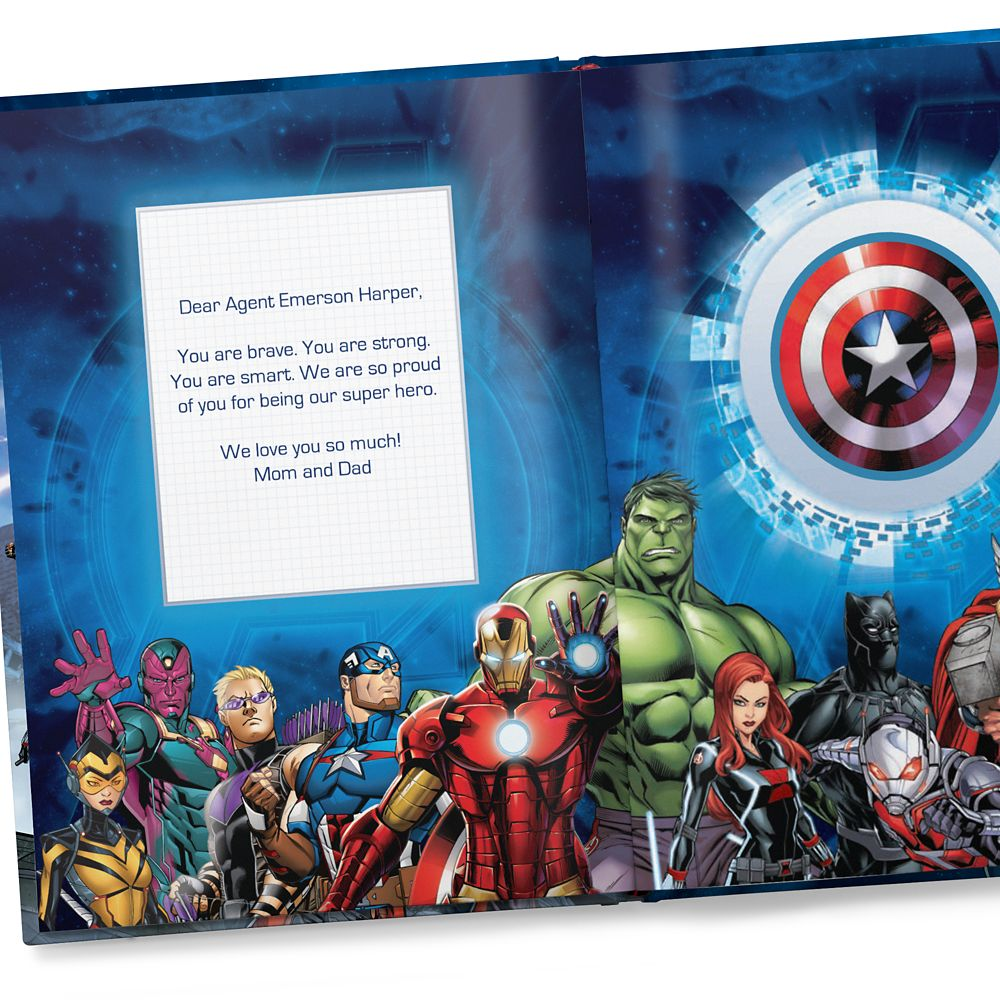 Avengers: (Your Name) Saves the Day – Hardback – Personalizable