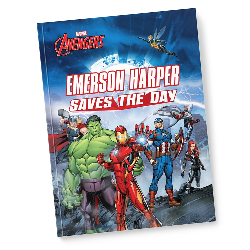 Avengers: (Your Name) Saves the Day – Paperback – Personalizable