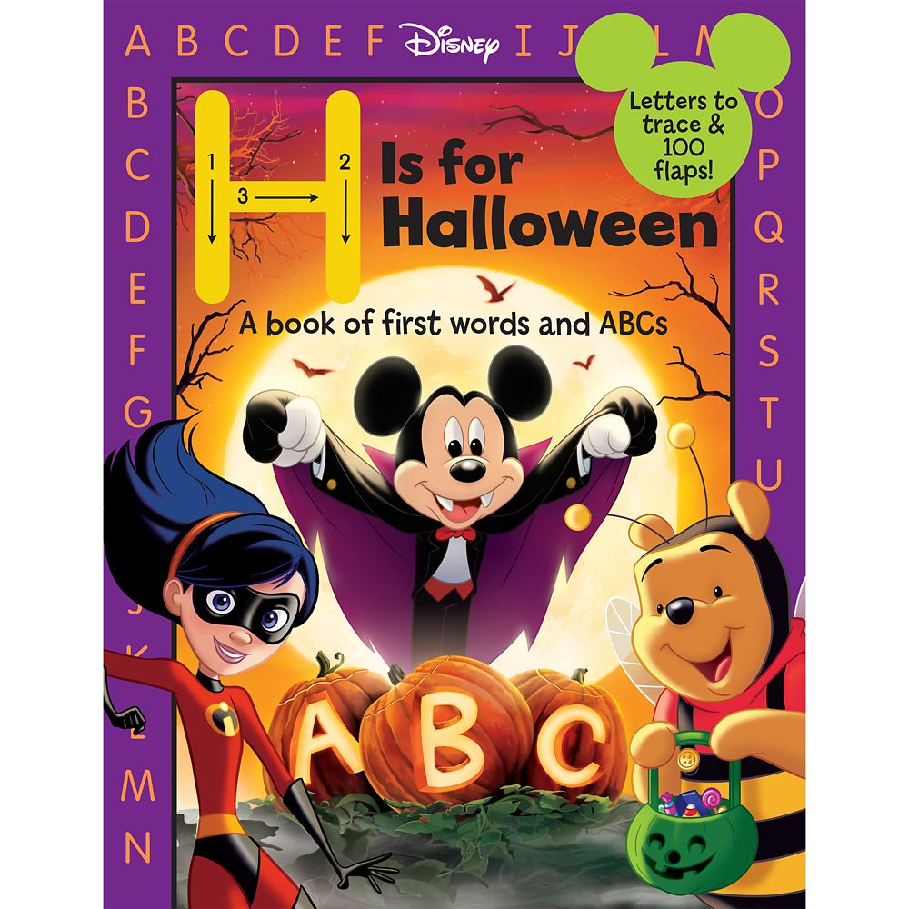 H Is for Halloween Book