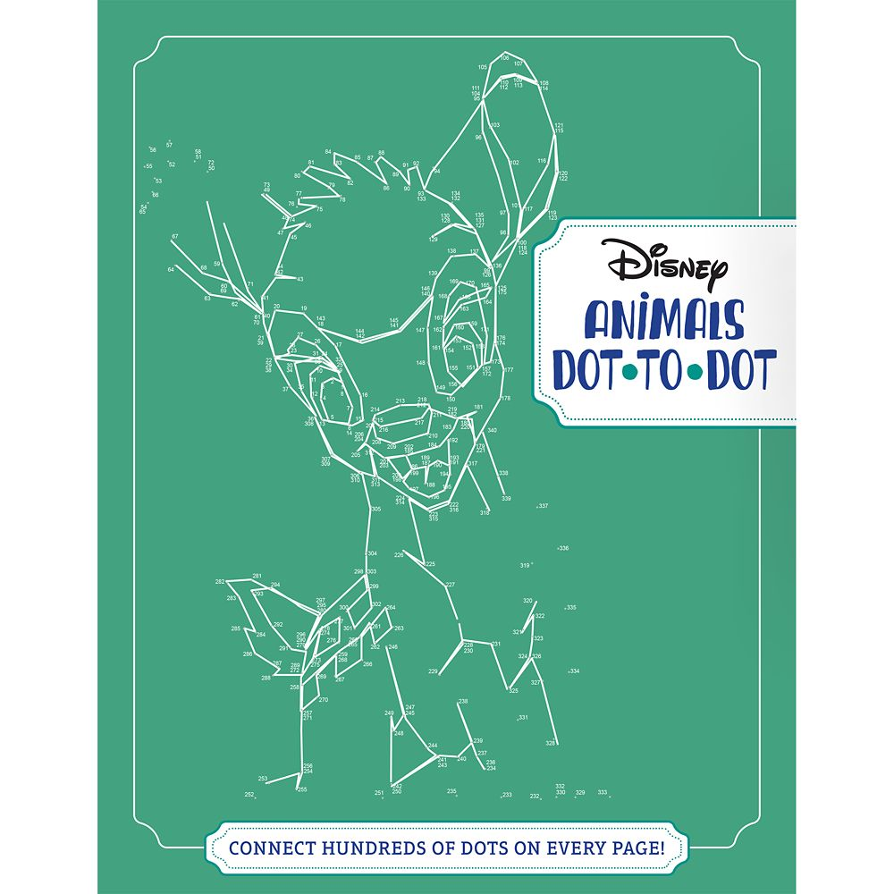 Disney Animals Dot-to-Dot Book