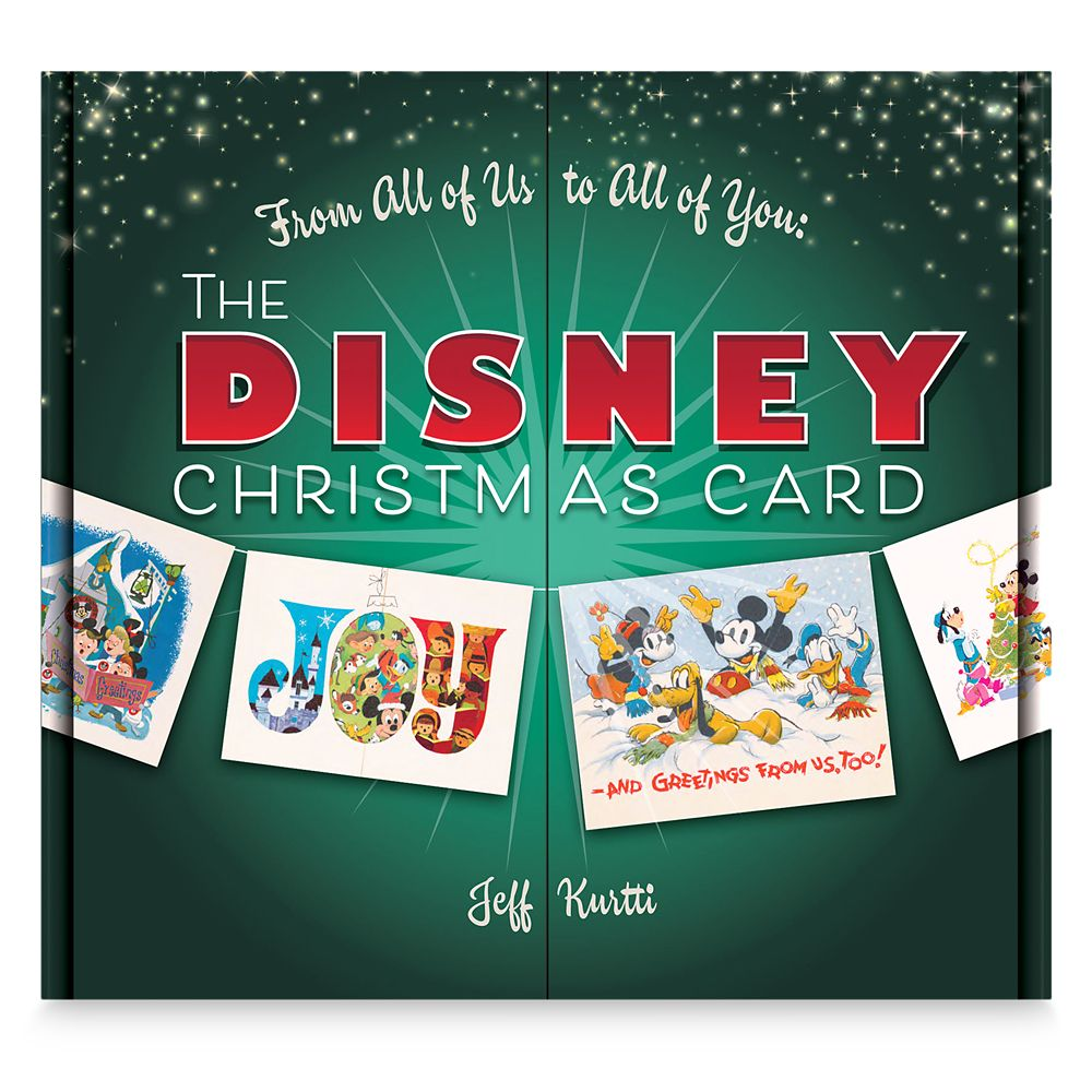 The Disney Christmas Card Book