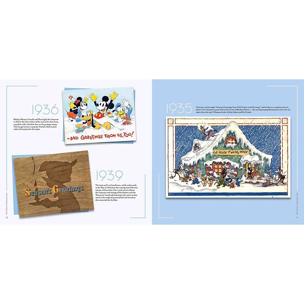 The Disney Christmas Card Book
