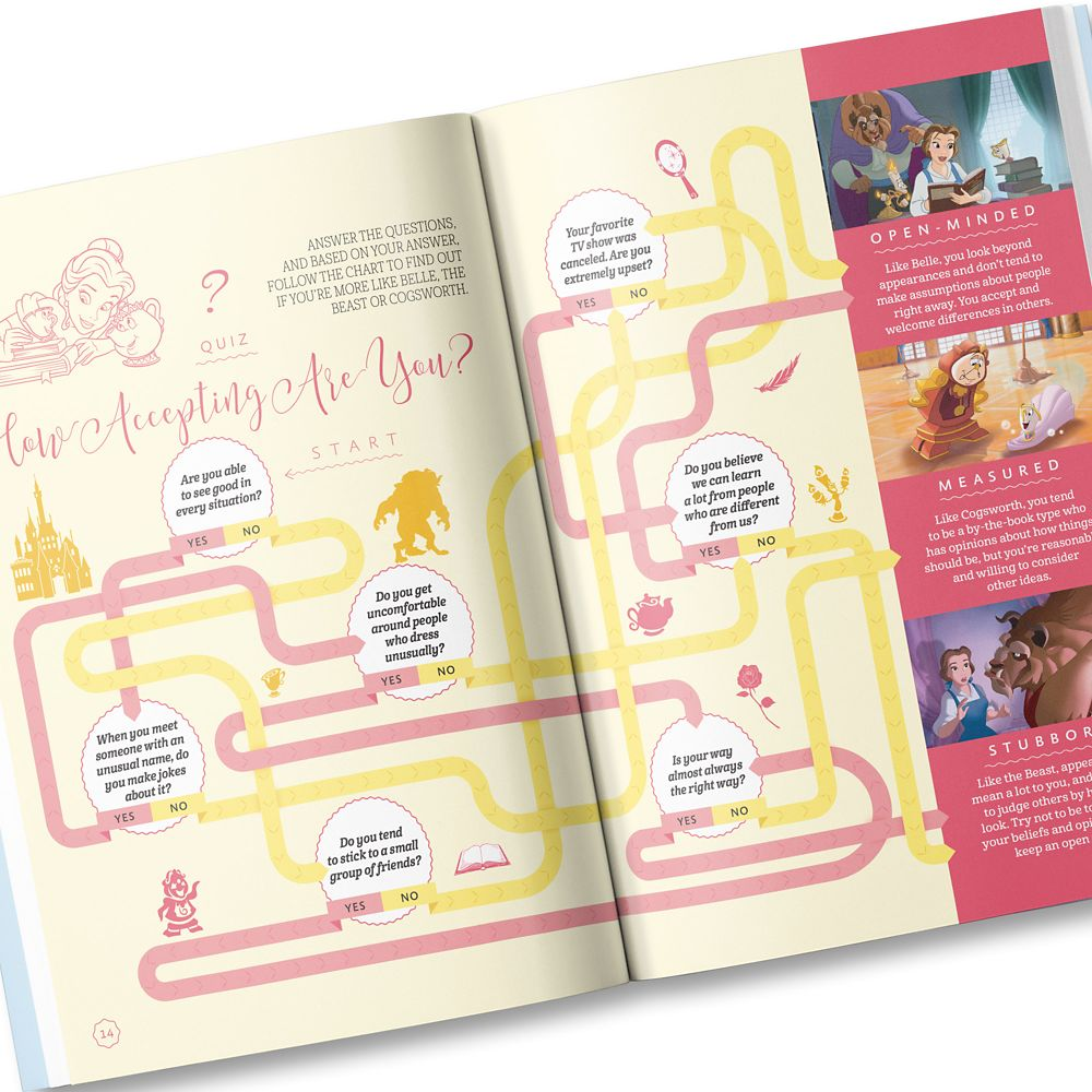 Your Day With Belle Book – Personalizable
