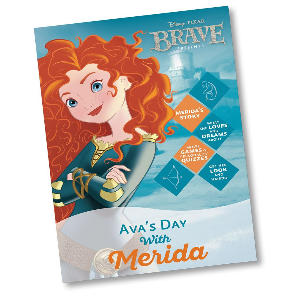 Your Day With Merida Book  Personalizable Official shopDisney