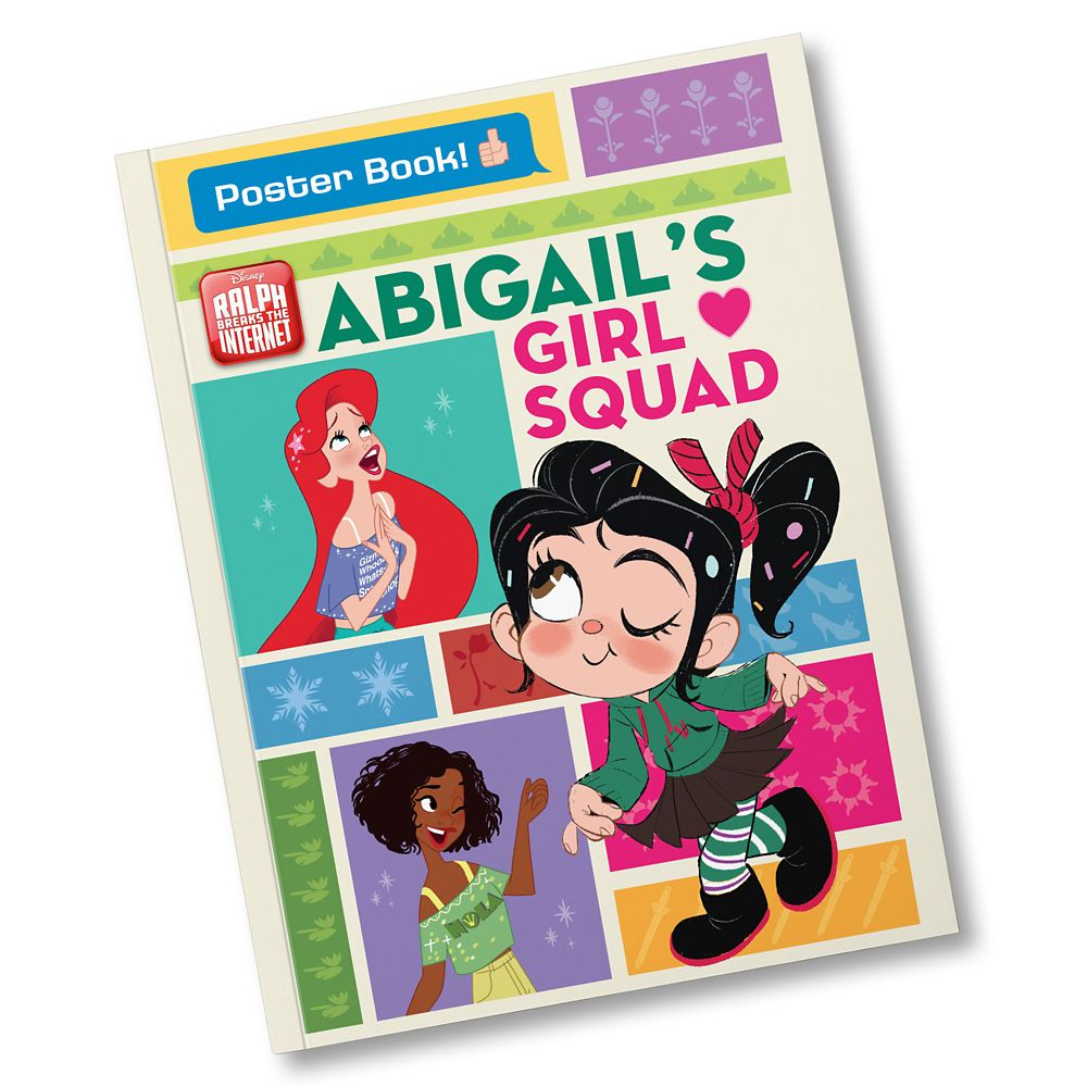 Ralph Breaks the Internet: Your Girl Squad Personalized Book – Personalizable