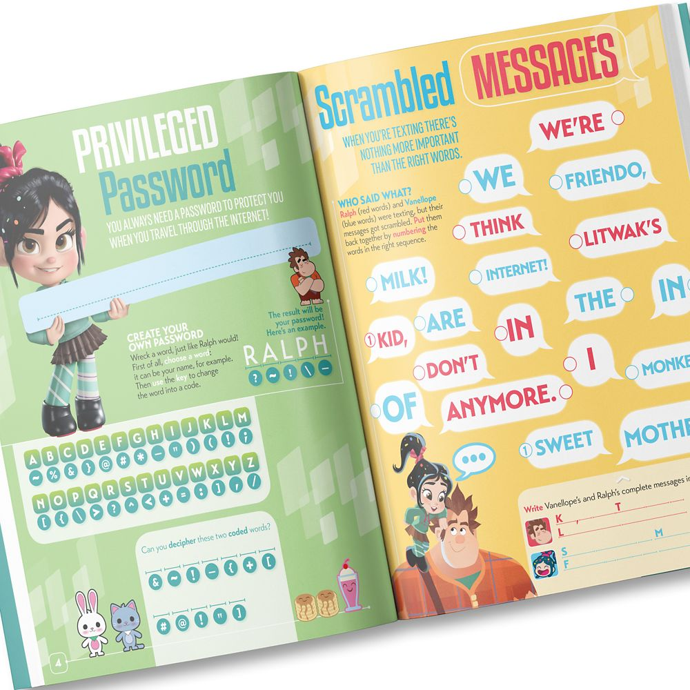 Your Day with Wreck-It Ralph Activity Book – Personalizable