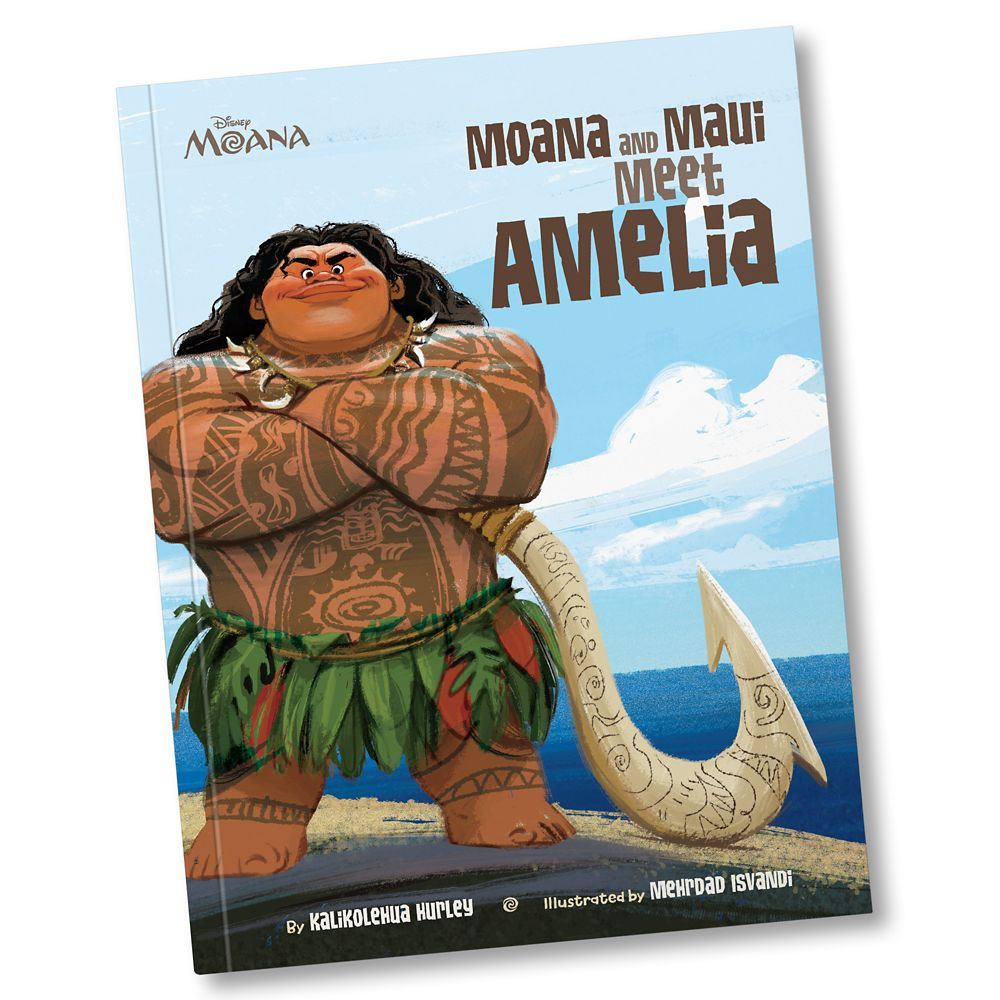Moana and Maui Meet You Book – Paperback – Personalizable