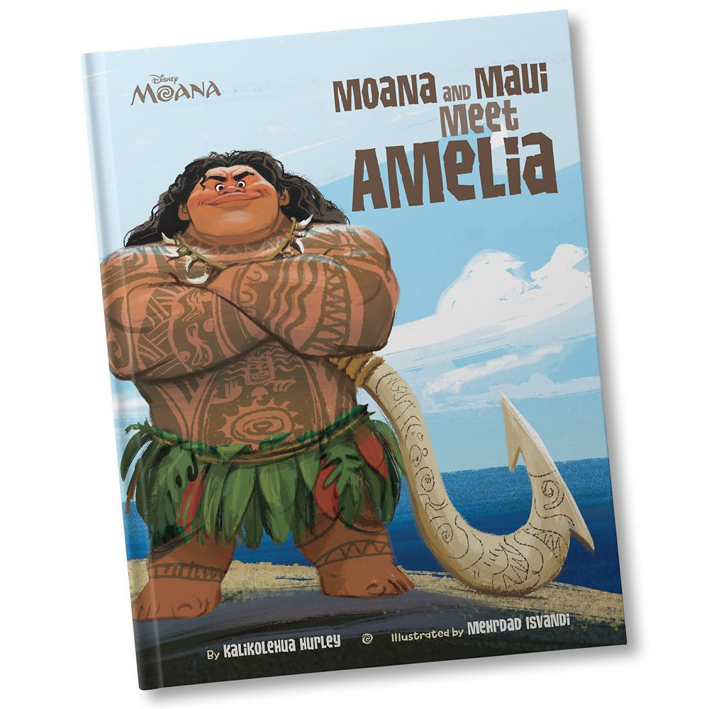 Moana and Maui Meet You Book – Hardback – Personalizable