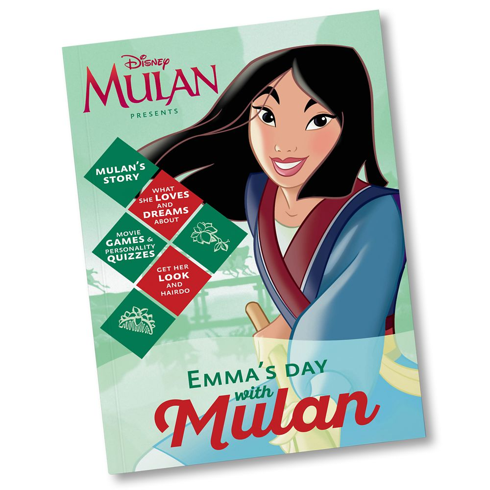 Your Day With Mulan Book  Personalizable Official shopDisney