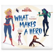 Marvel's Captain Marvel What Makes a Hero Book