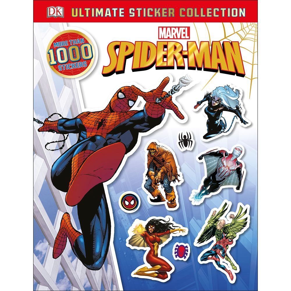 Spider-Man: Ultimate Sticker Collection Official shopDisney