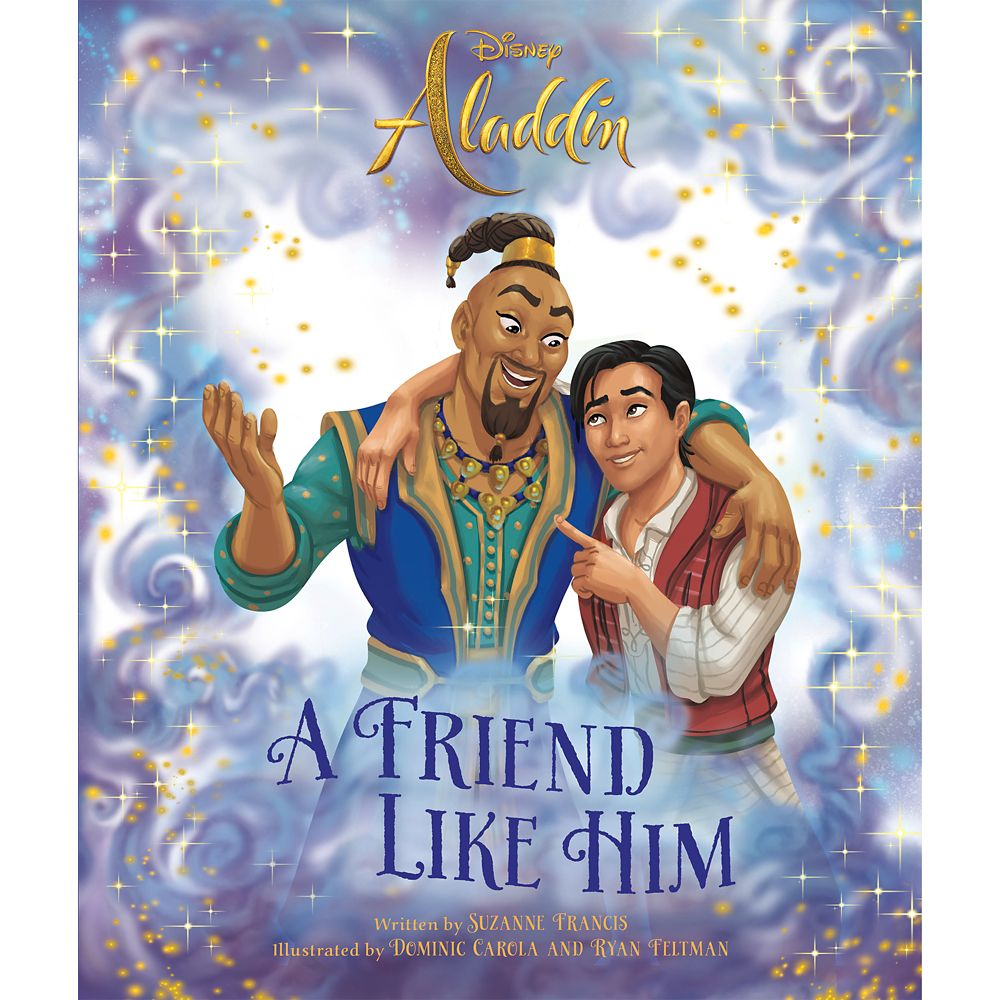Aladdin: A Friend Like Him Book  Live Action Film Official shopDisney