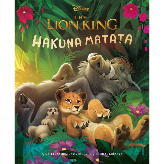 The Lion King Picture Book: Hakuna Matata Book – The Lion King 2019 Film
