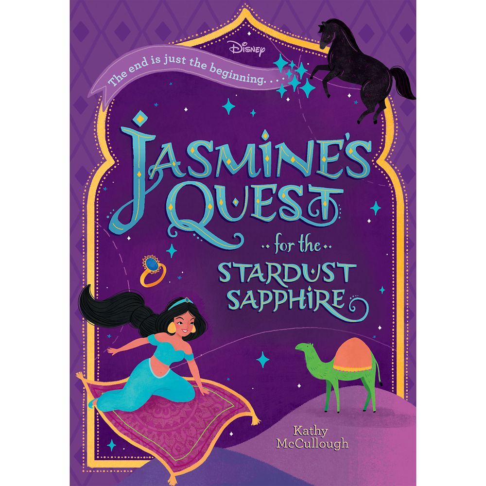 Aladdin: Jasmine's Quest for the Stardust Sapphire Book