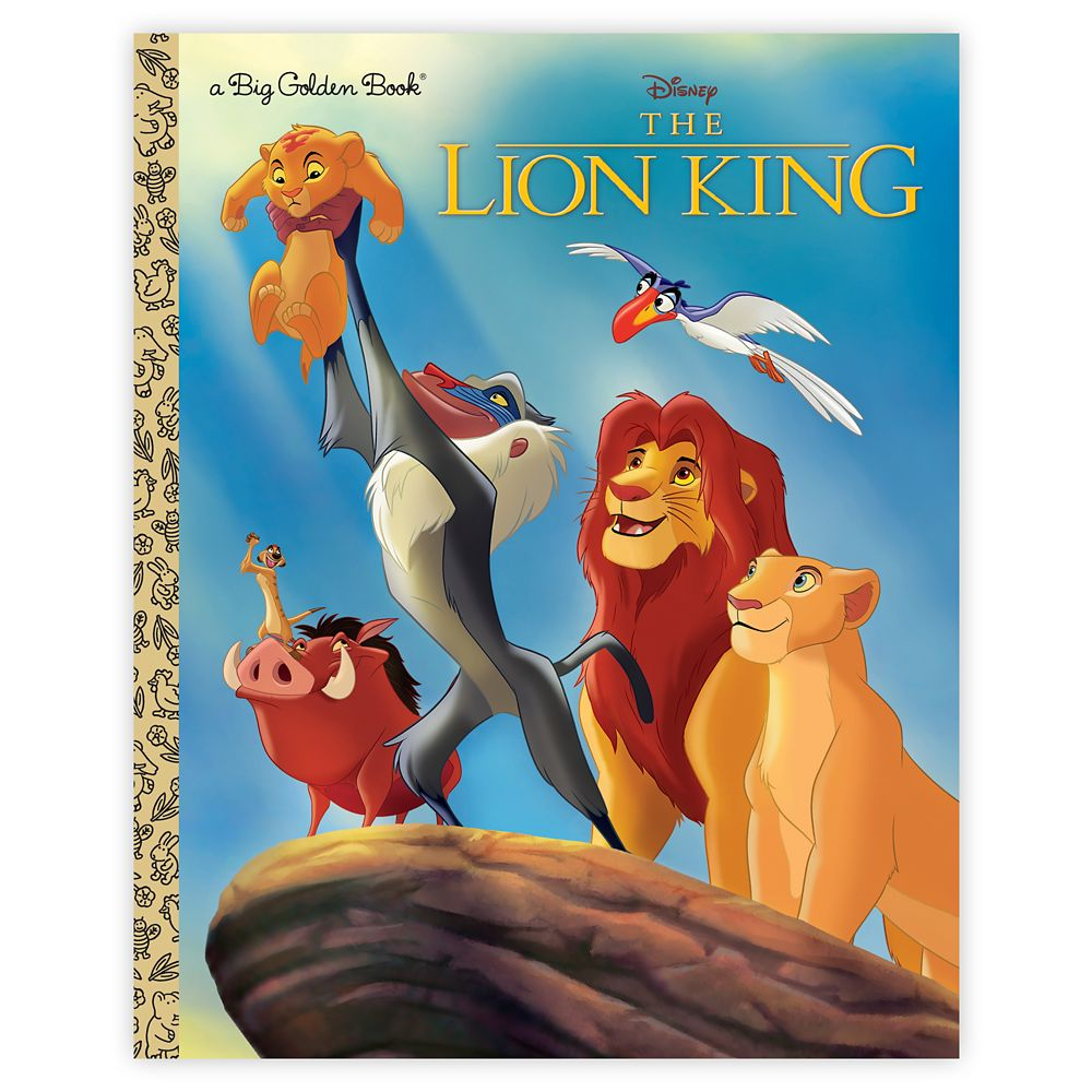 The Lion King  Big Golden Book Official shopDisney