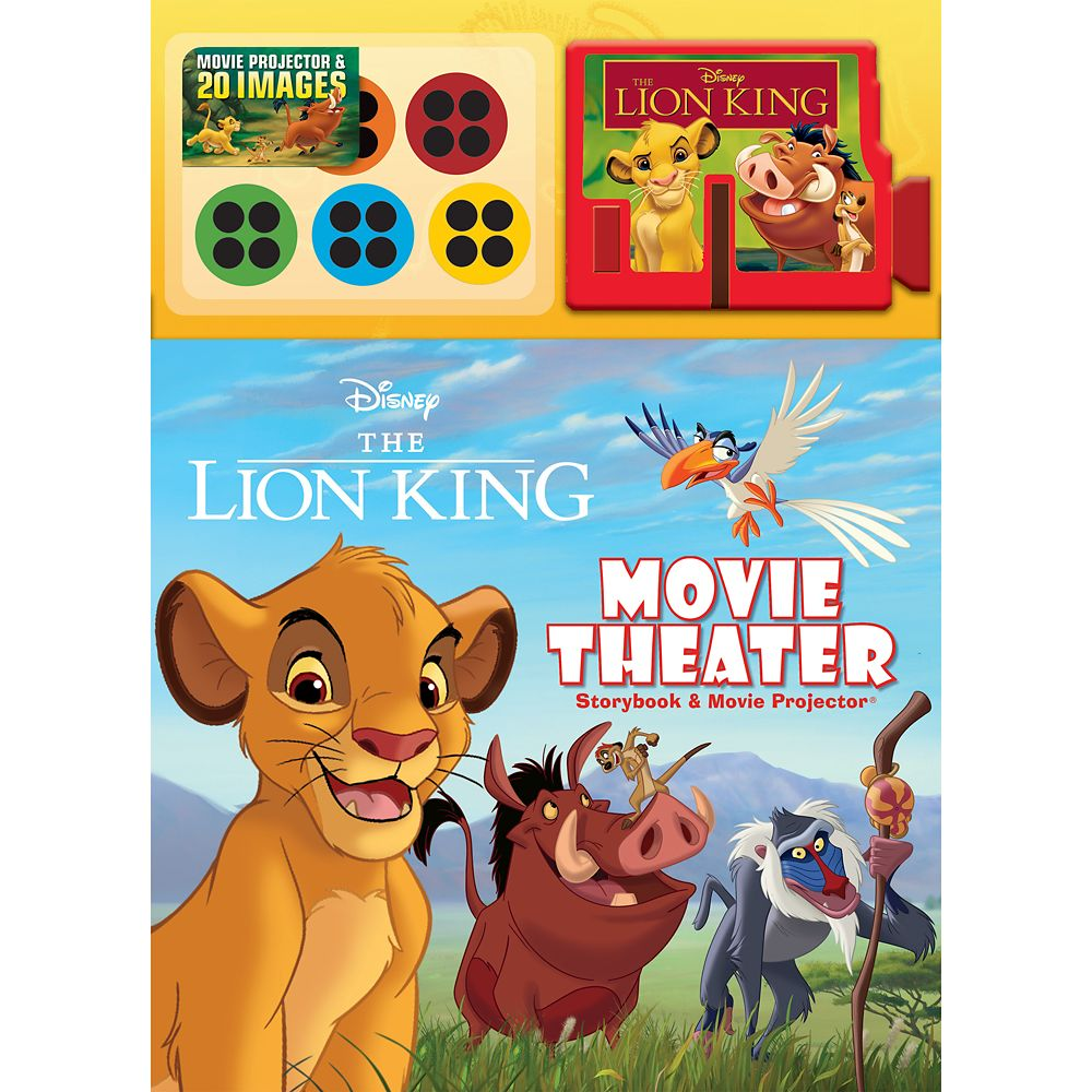 The Lion King Movie Theater Storybook and Movie Projector