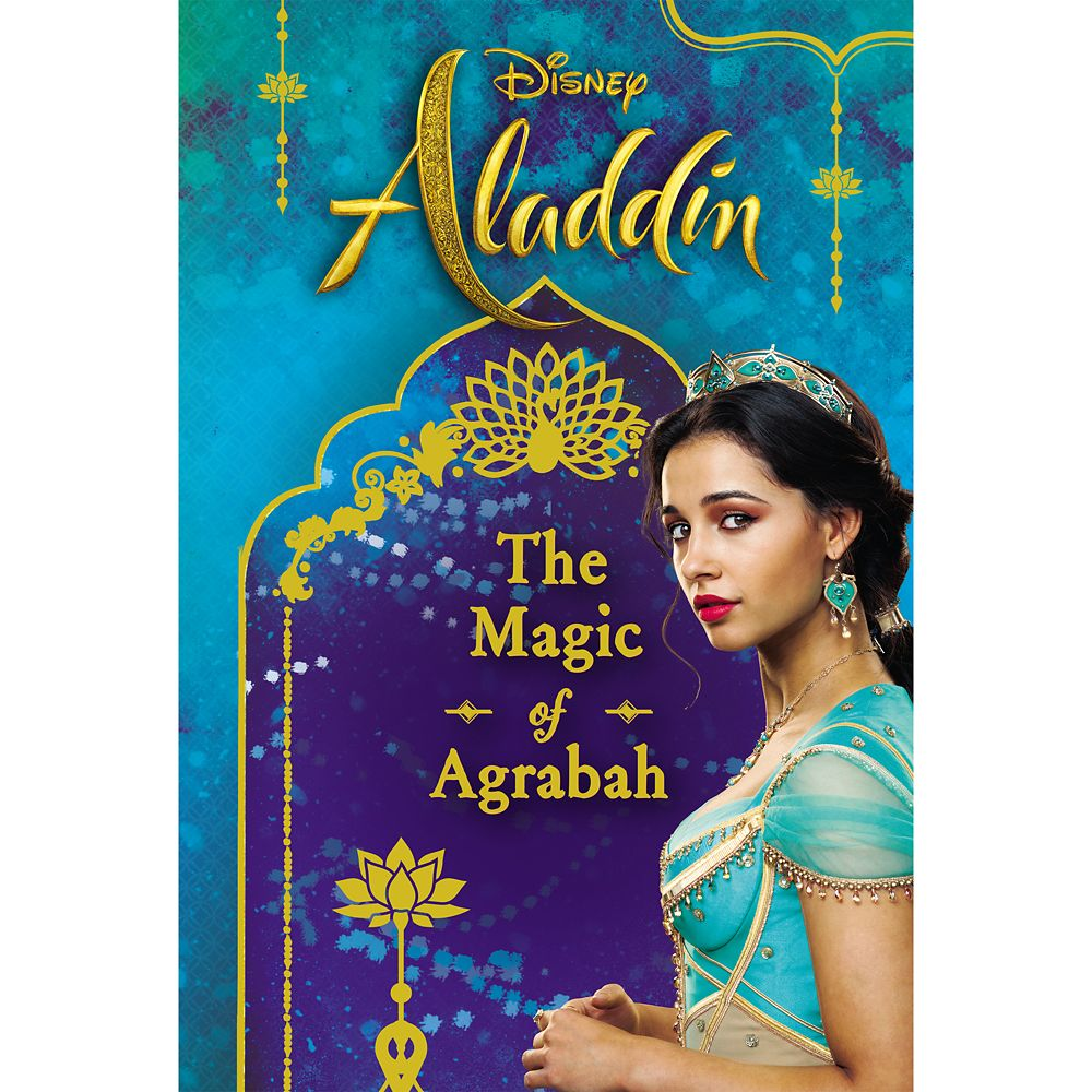 Aladdin: The Magic of Agrabah Book Official shopDisney