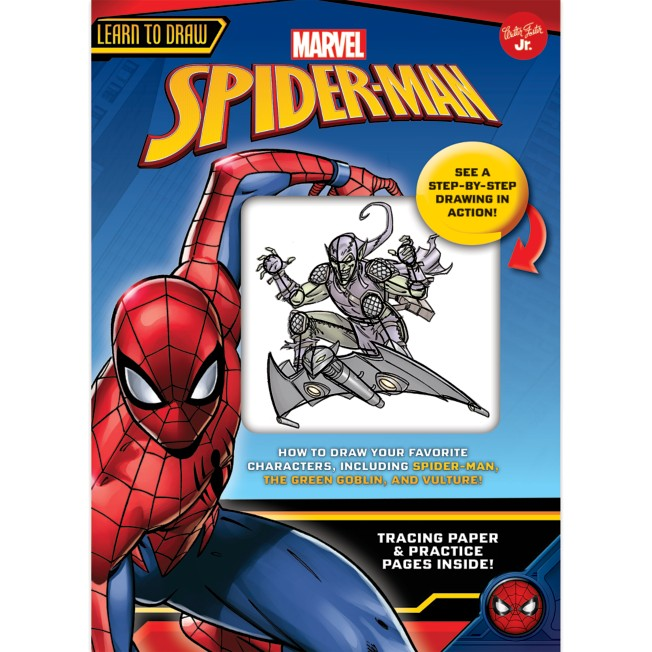 Spider-Man Learn to Draw Book