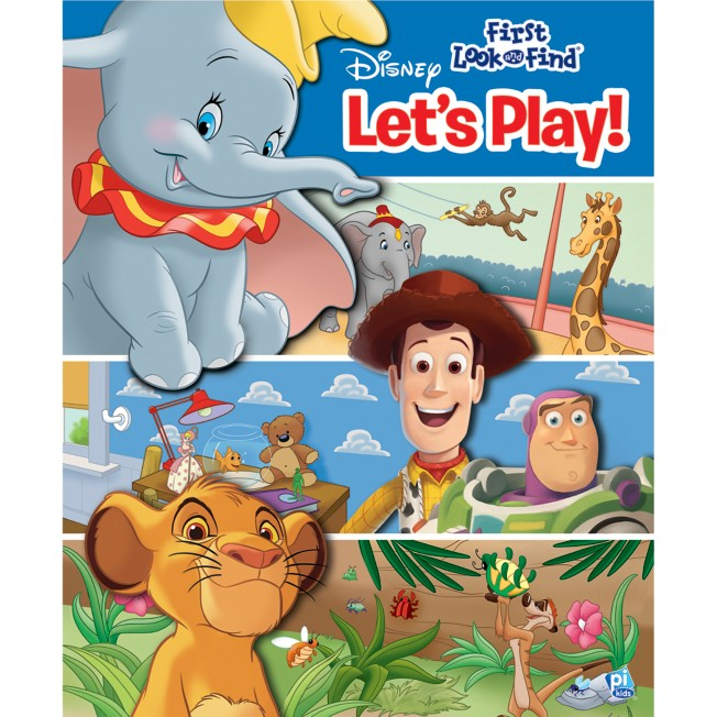 Disney Let's Play! First Look and Find Book