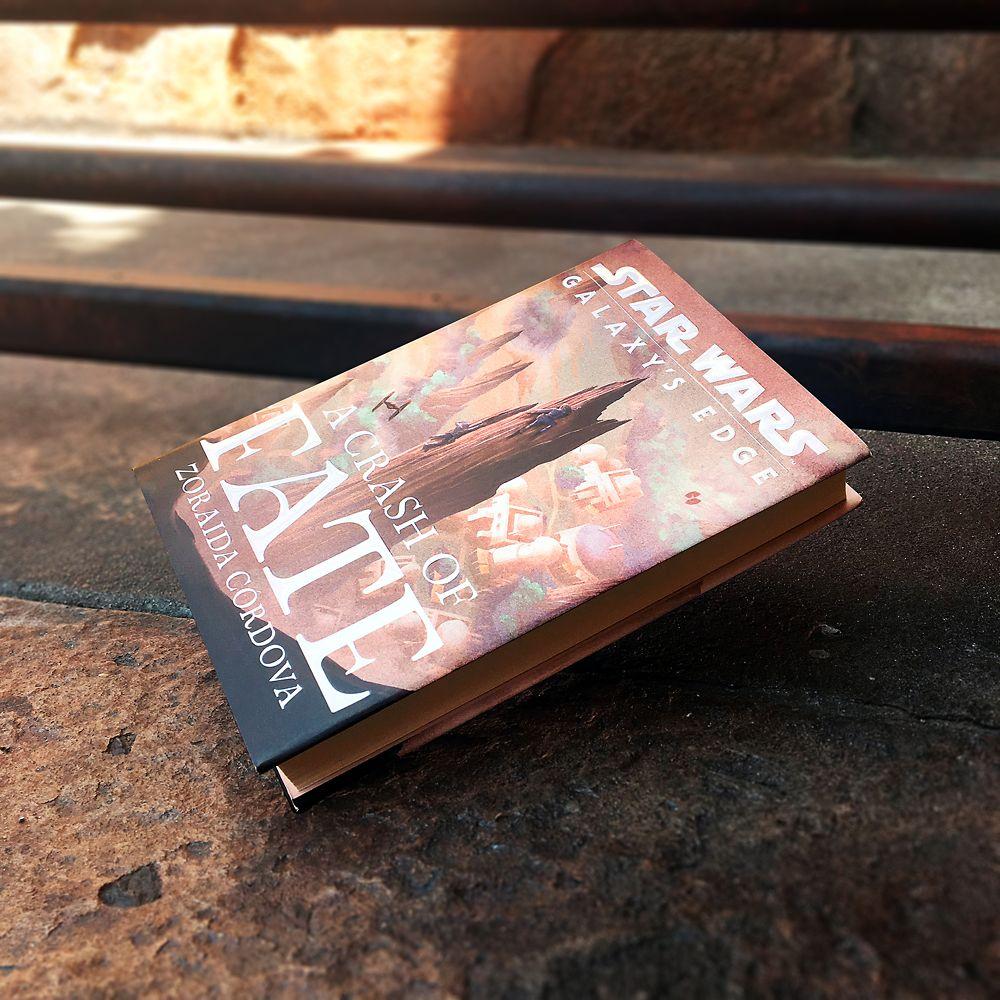 Star Wars: Galaxy's Edge A Crash of Fate Book