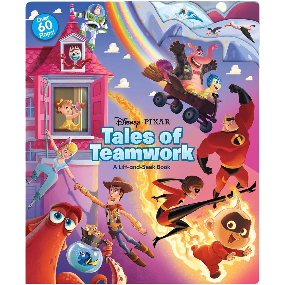 Disney and Pixar Tales of Teamwork Book