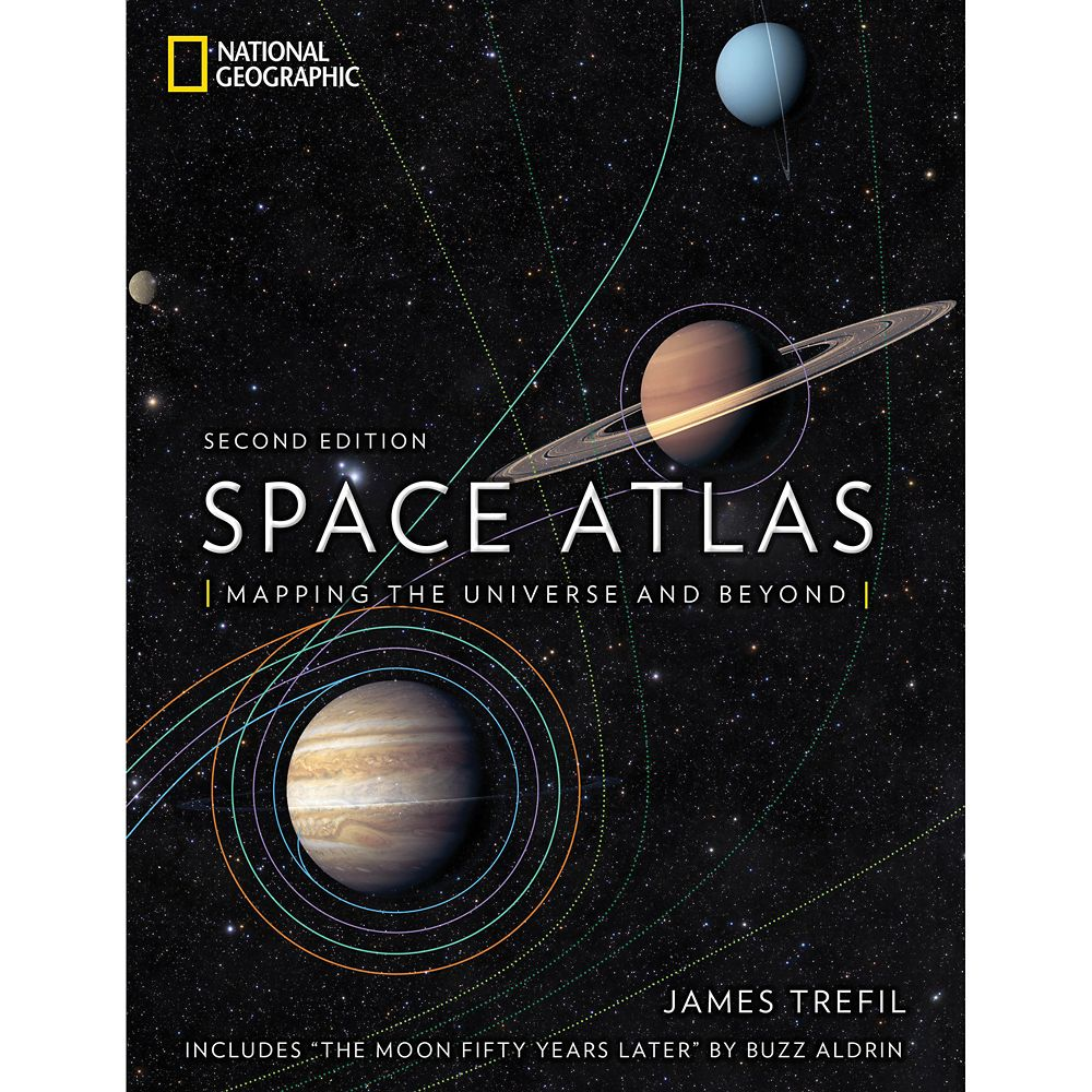 Space Atlas: Mapping the Universe and Beyond Book – National Geographic