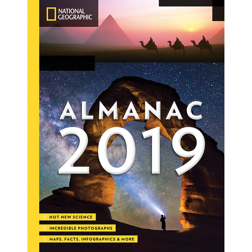 National Geographic Almanac 2019: New Findings, Best Photos, Trends and Facts Book