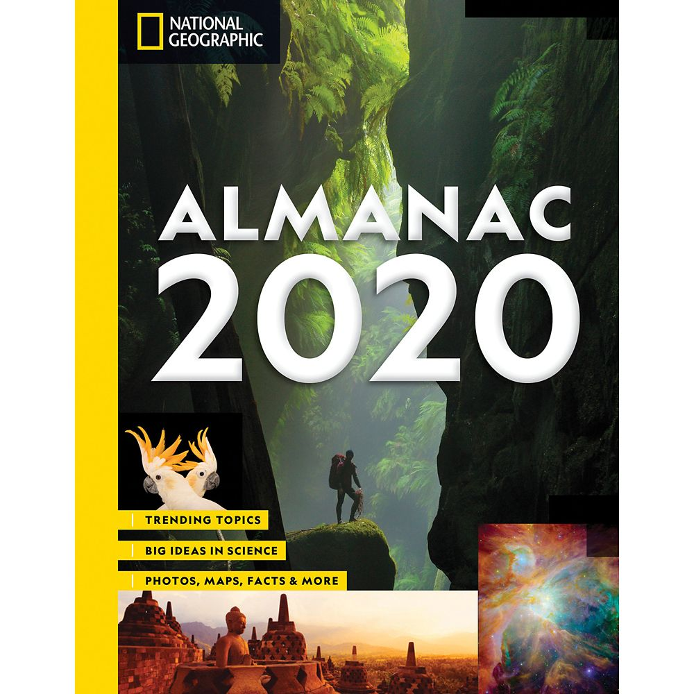Almanac 2020: Trending Topics, Big Ideas in Science, Photos, Maps, Facts and More Book – National Geographic