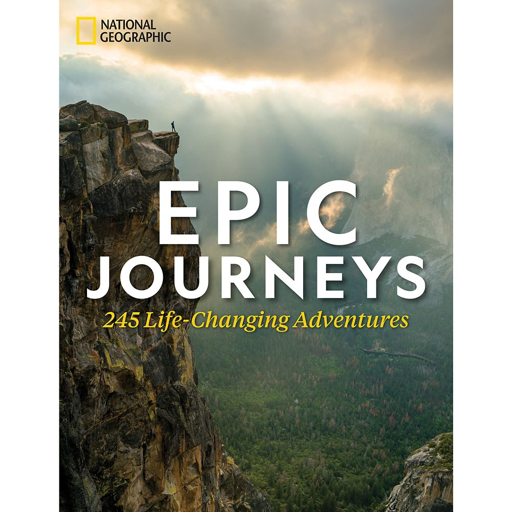 Epic Journeys: 245 Life-Changing Adventures Book  National Geographic Official shopDisney
