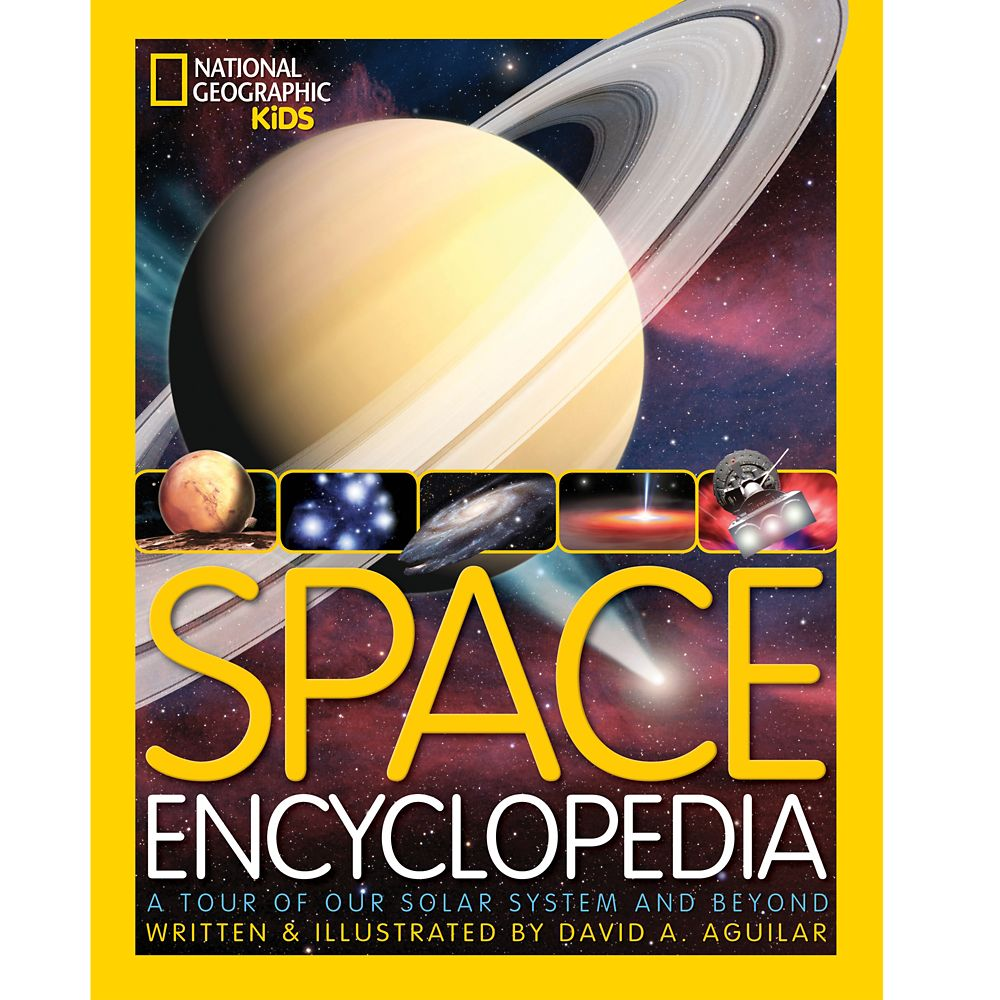Space Encyclopedia: A Tour of Our Solar System and Beyond Book – National Geographic