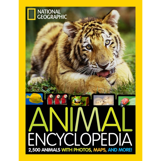 Animal Encyclopedia: 2,500 Animals with Photos, Maps, and More Book – National Geographic