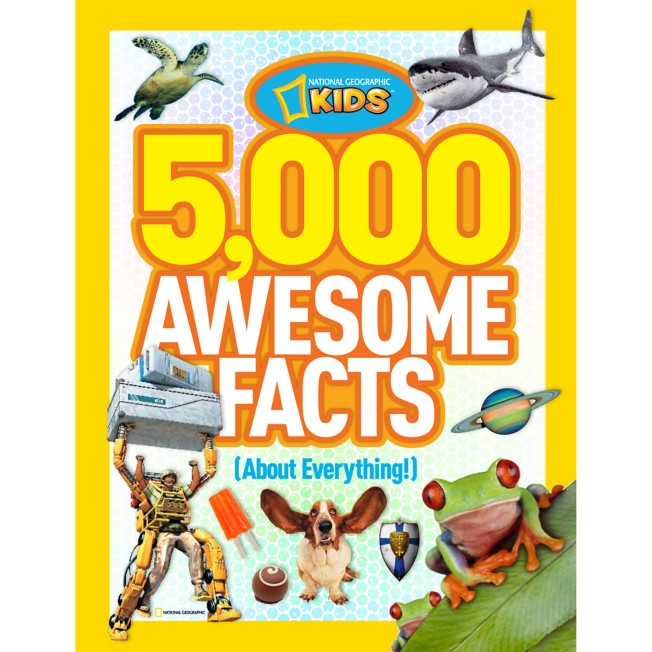 5,000 Awesome Facts (About Everything) Book – National Geographic