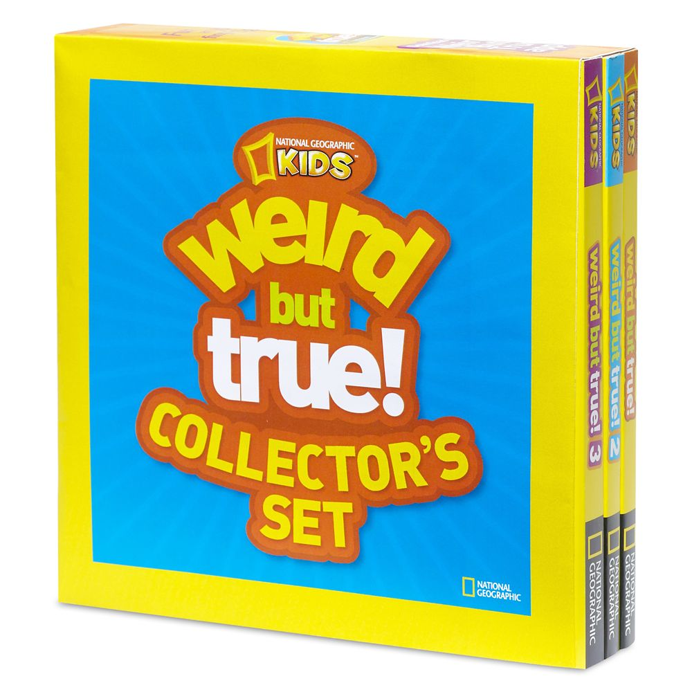 Weird but True! Three-Book Set – National Geographic