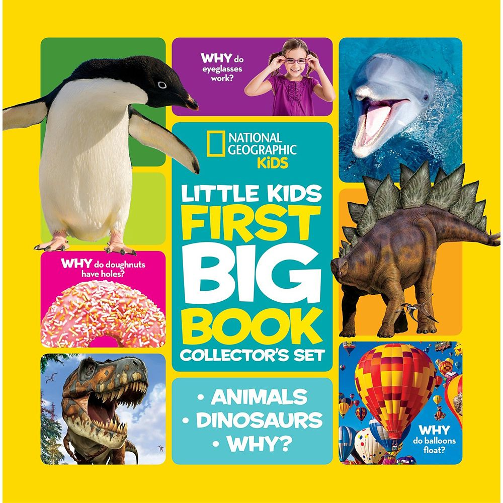First Big Book Collector's Three-Book Set – National Geographic