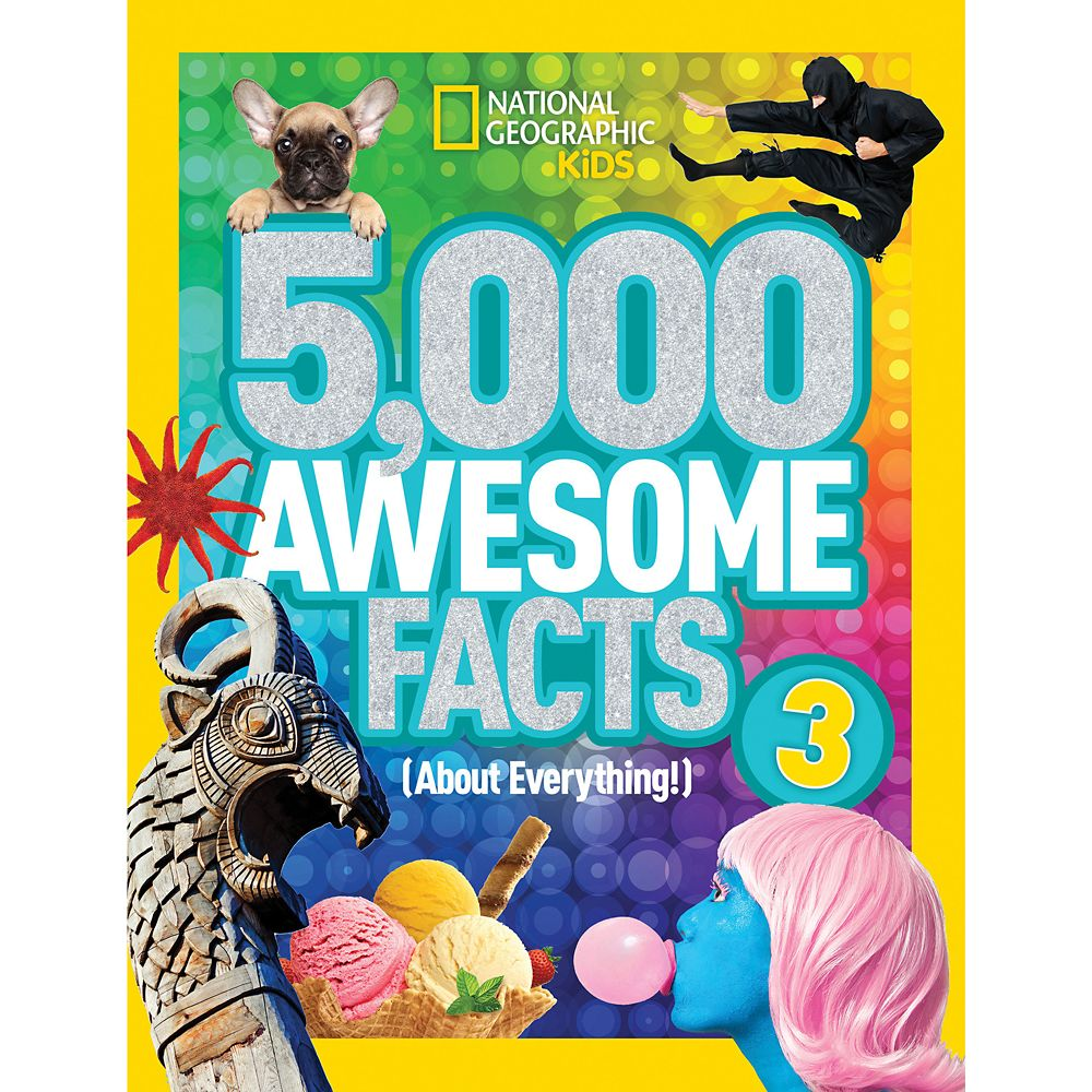 5,000 Awesome Facts (About Everything!) Volume 3 Book – National Geographic