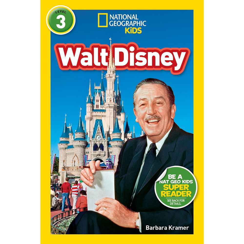 Walt Disney Biography Book – National Geographic