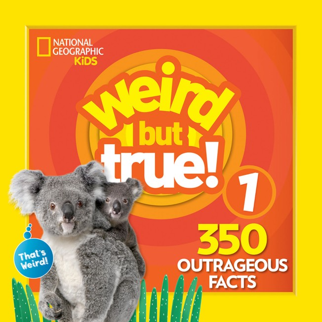 Weird but True! Volume 1 Book – National Geographic