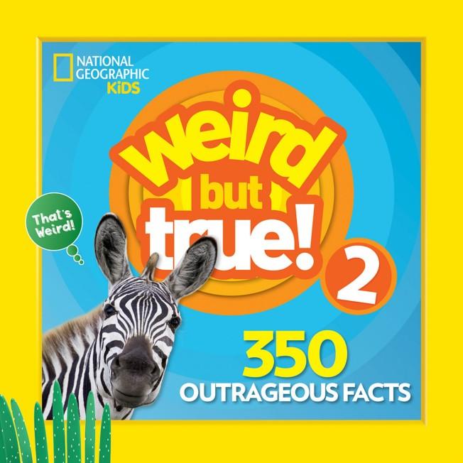 Weird but True! Volume 2 Book – National Geographic