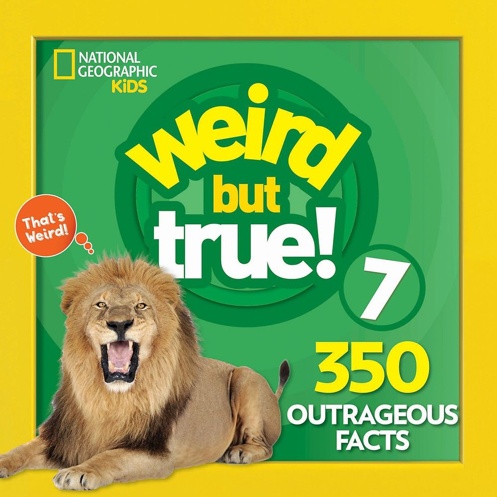 Weird but True! Volume 7 Book – National Geographic